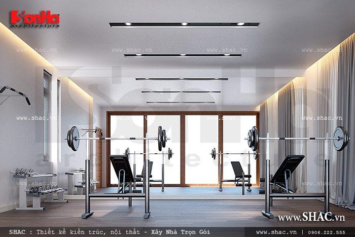 Phòng tập gym tại nhà sh btd 0042