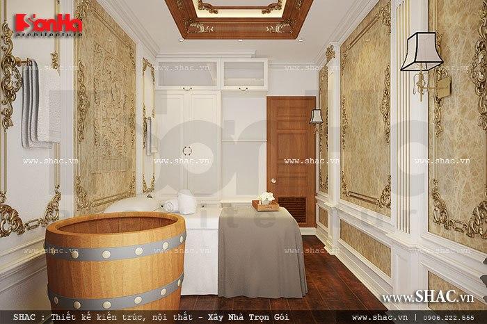 Mẫu thiết kế phòng spa đẹp với nội thất cao cấp thực sự mang đến không gian thư giãn lý tưởng cho quý khách hàng