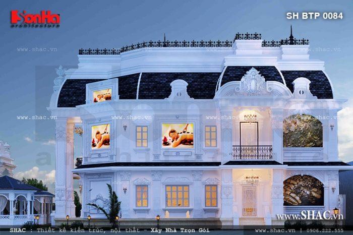 Trung tâm spa sang trọng phong cách Pháp khá ấn tượng và chinh phục mọi ánh nhìn