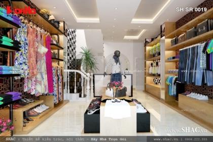 Shop quần áo có diện tích 40m2 sh sr 0019