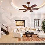 Bộ sofa phòng khách mang phong cách pháp nhẹ nhàng sh btp 0091