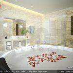 Bồn tắm sang trọng và tiện nghi sh btp 0085