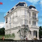 Kiến trúc pháp sang trọng và đẳng cấp của biệt thự sh btp 0085