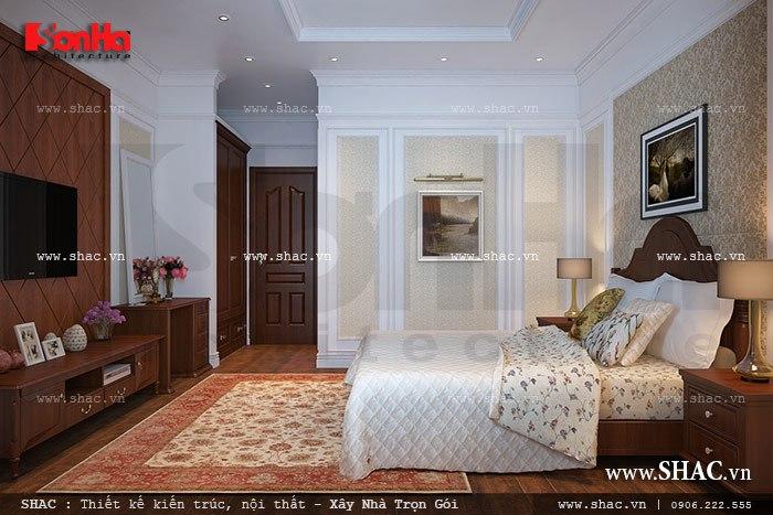 Mẫu phòng ngủ nhé nhàng và ấm cúng sh btp 0090
