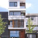 Nhà phố mặt tiền 6m đẹp sh nod 0151