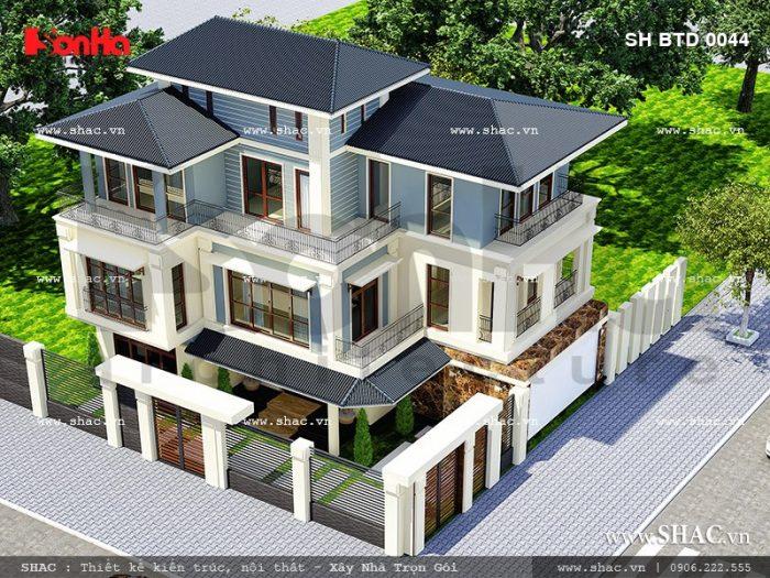 ngôi biệt thự 3 tầng