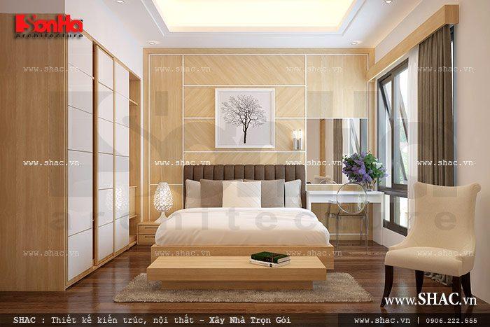 Phòng ngủ nhẹ nhàng và ấm cúng sh nod 0148