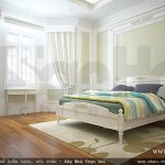 Phòng ngủ với vẻ đẹp thanh thoát Phòng ngủ với vẻ đẹp thanh thoát sh btp 0085