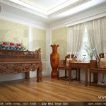 Phòng thờ đơn giản kiểu truyền thống sh btp 0085