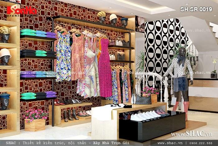 Thiết kế shop thời trang đẹp sh sr 0019