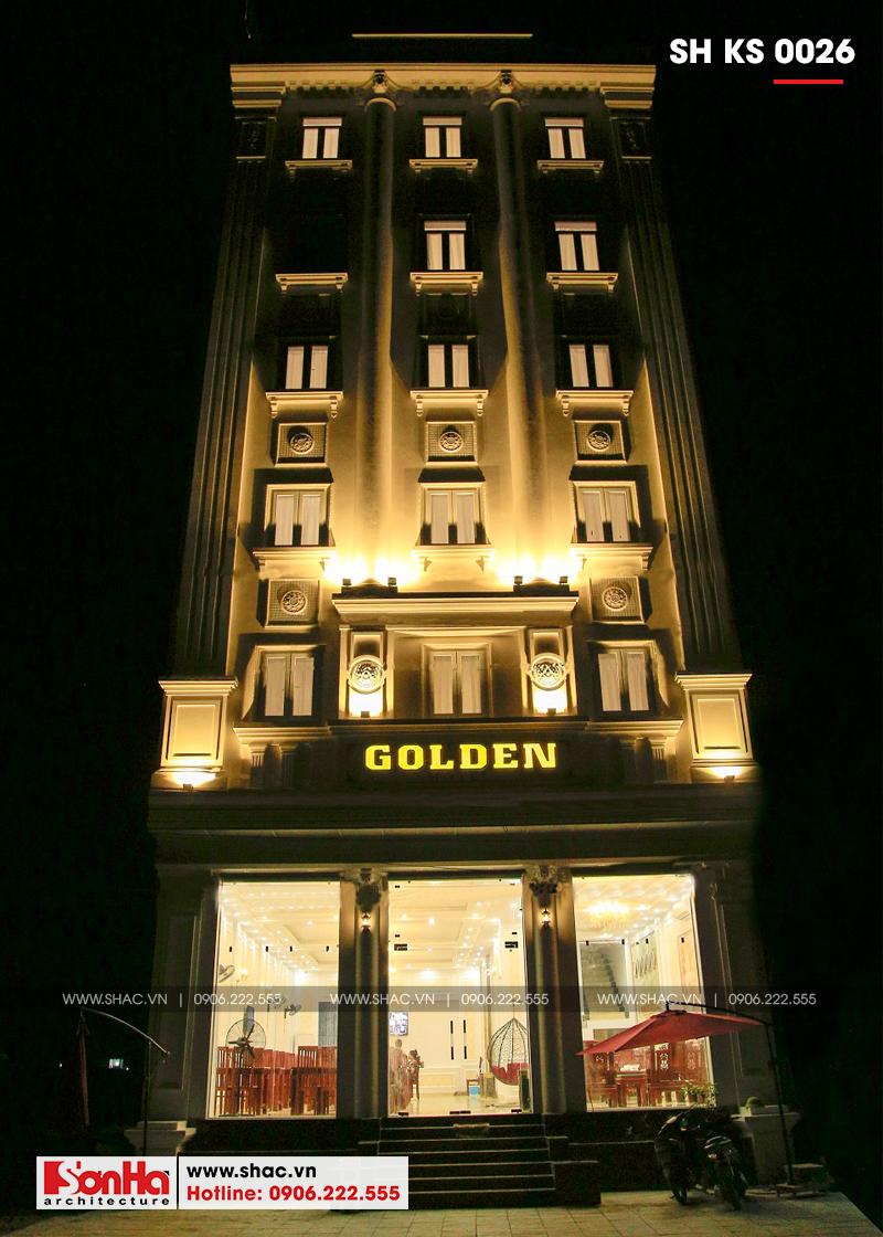 Mẫu thiết kế khách sạn cổ điển Pháp đẳng cấp tại Quảng Ninh - SH KS 0026 2