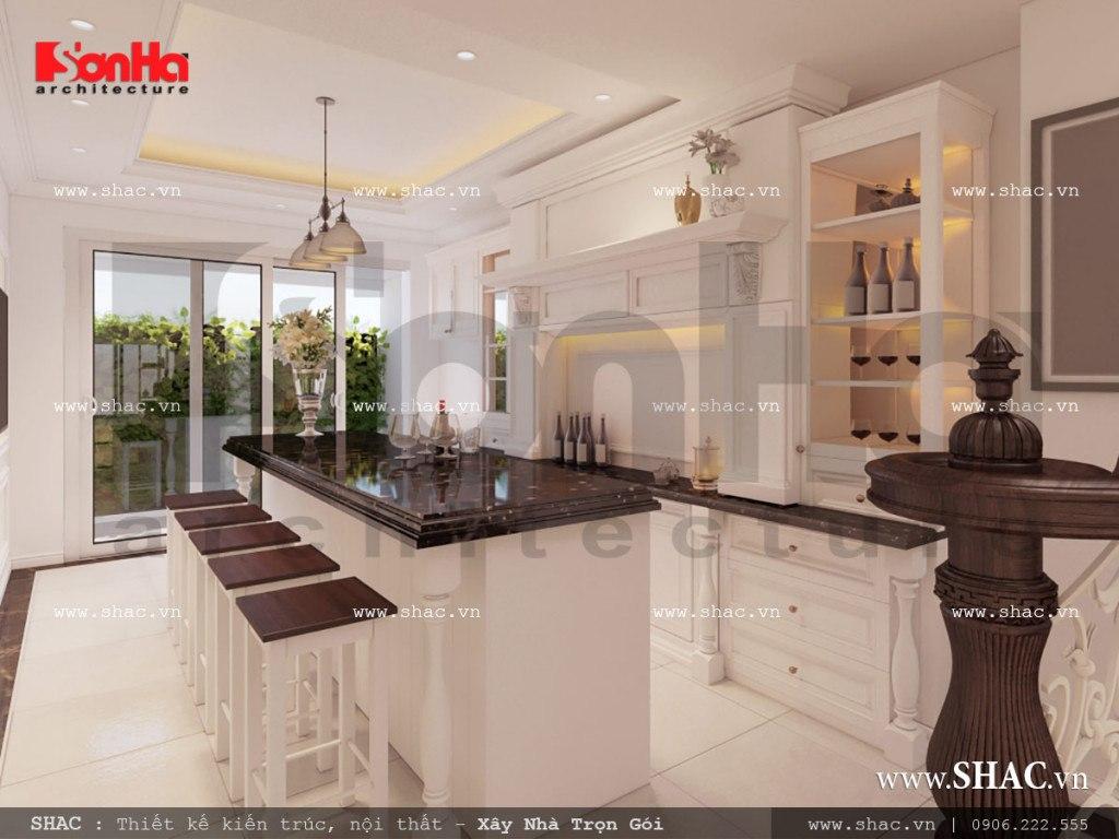 Thiết kế nội thất phòng giải trí mang phong cách cổ điển sh nop 0110