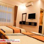 10 Ảnh thực tế nội thất phòng ngủ đôi khách sạn cổ điển 5 tầng tại quảng ninh sh ks 0026