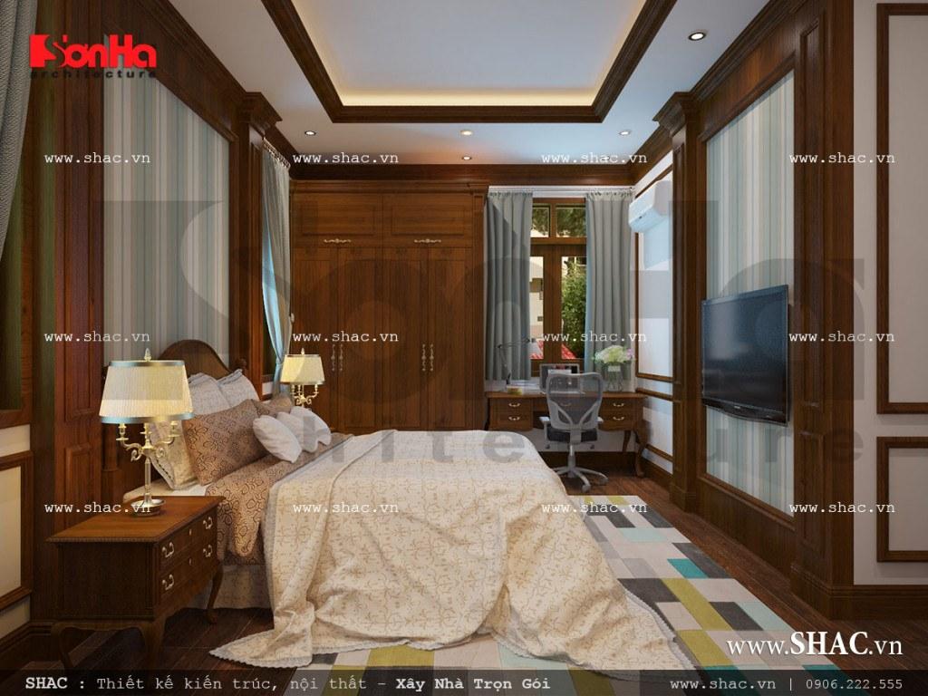 Thiết kế nội thất phòng ngủ con trai 2008 trẻ trung sh nop 0111