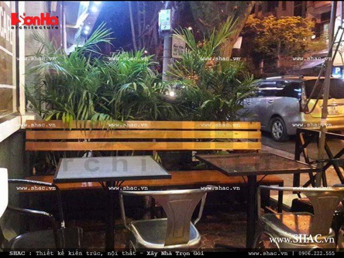 13 Ảnh thực tế nội thất quầy lễ tân quán cafe Điện Biên Phủ - Hải Phòng sh bck 0040