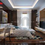 Mẫu thiết kế nội thất phòng ngủ 6 lãng mạn nhà ống cổ điển sh nop 0113