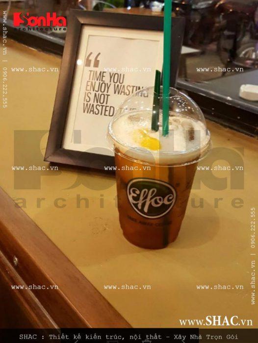 17 Ảnh thực tế nội thất quầy lễ tân quán cafe Điện Biên Phủ - Hải Phòng sh bck 0040