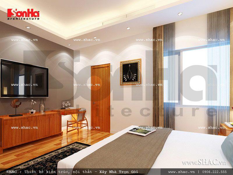Mẫu thiết kế nội thấy phòng ngủ 2 view3 khách sạn mini cổ điển đẹp sh ks 0027