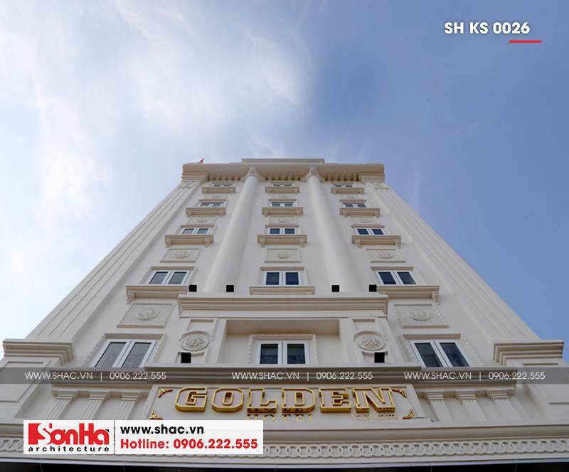 Mẫu thiết kế khách sạn cổ điển Pháp đẳng cấp tại Quảng Ninh - SH KS 0026 3
