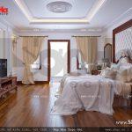 Thiết kế nội thất phòng ngủ bố mẹ cổ điển sh nop 0112