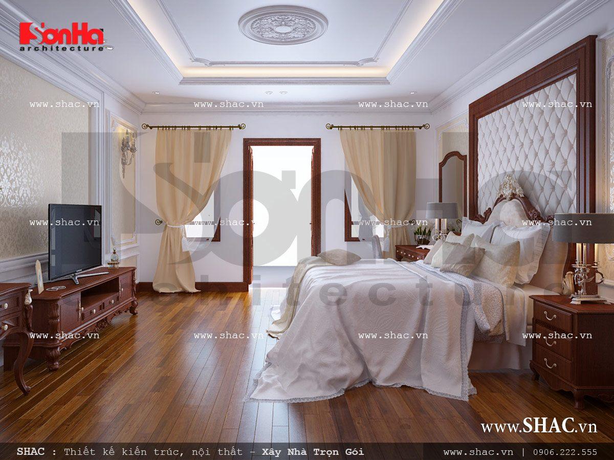 Mẫu thiết kế nhà ống kiến trúc cổ điển Pháp 5 tầng tại Quảng Ninh – SH NOP 0112 3