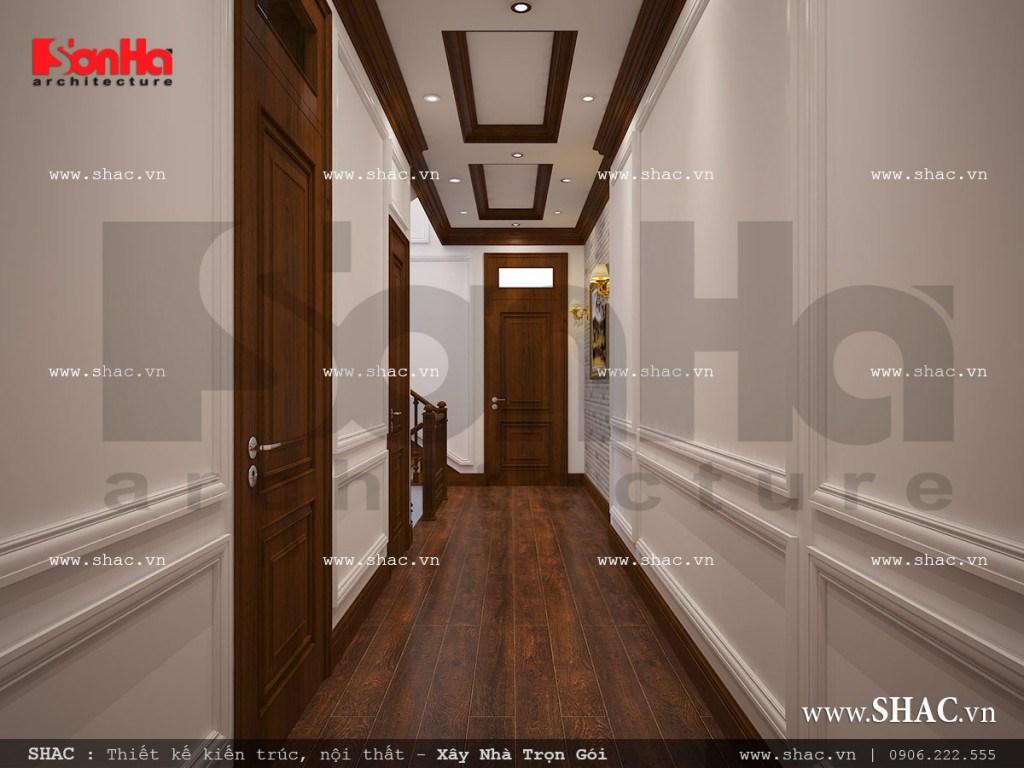 Thiết kế nội thất sảnh thang sh nop 0111