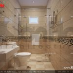 Mẫu nội thất phòng vệ sinh 2 sh nop 0111