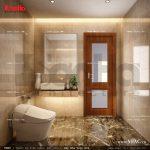 Mẫu thiết kế nội thất phòng wc tầng 1 sh nop 0113