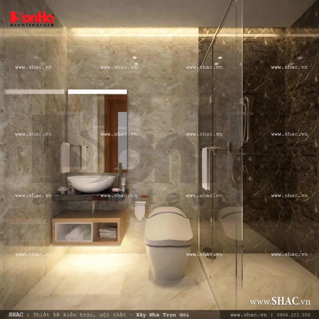Mẫu thiết kế nội thất phòng wc tầng 3 sh nop 0113