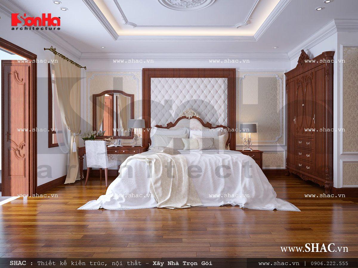 Mẫu thiết kế nhà ống kiến trúc cổ điển Pháp 5 tầng tại Quảng Ninh – SH NOP 0112 4
