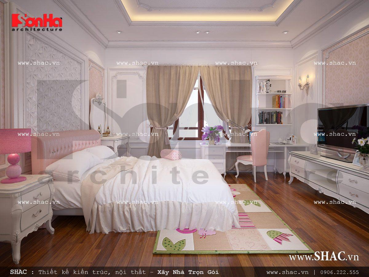 Mẫu thiết kế nhà ống kiến trúc cổ điển Pháp 5 tầng tại Quảng Ninh – SH NOP 0112 5