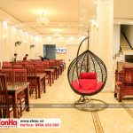 4 Ảnh thực tế nội thất khu nhà hàng khách sạn cổ điển 5 tầng tại quảng ninh sh ks 0026