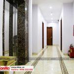 6 Ảnh thực tế nội thất hành lang khách sạn cổ điển 5 tầng tại quảng ninh sh ks 0026