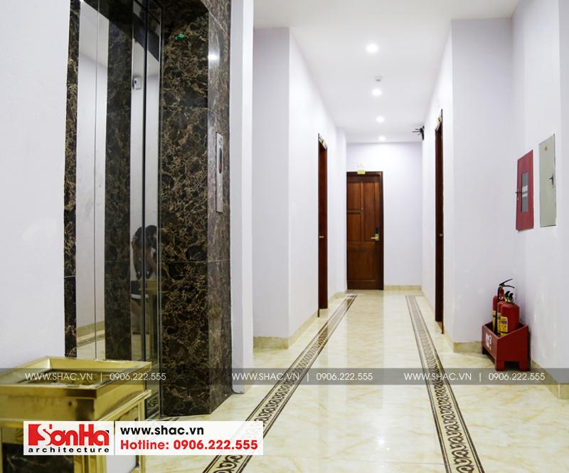 Mẫu thiết kế khách sạn cổ điển Pháp đẳng cấp tại Quảng Ninh - SH KS 0026 11
