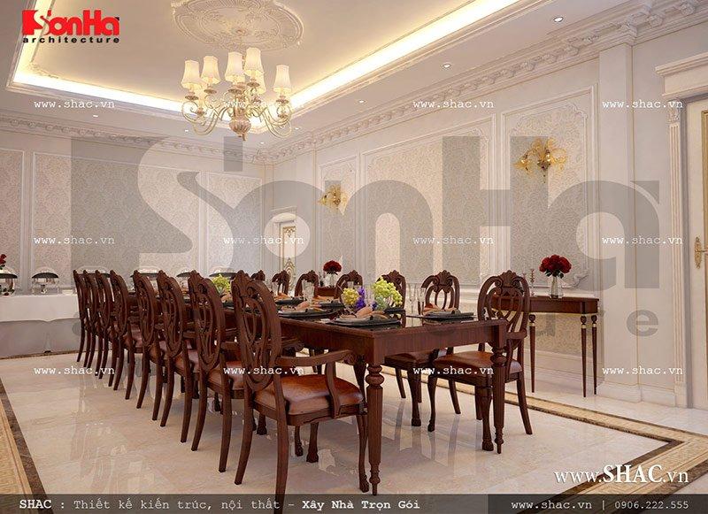 Thiết kế nội thất phòng ăn VIP 1 tiệc cưới nhà hàng sang trọng sh bck 0042