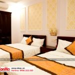 9 Ảnh thực tế nội thất phòng ngủ đôi khách sạn 2 sao tại quảng ninh sh ks 0026