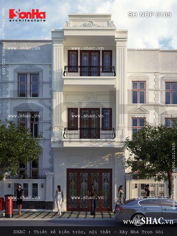cải tạo nhà phố kiến trúc tân cổ điển đẹp tại hải phòng