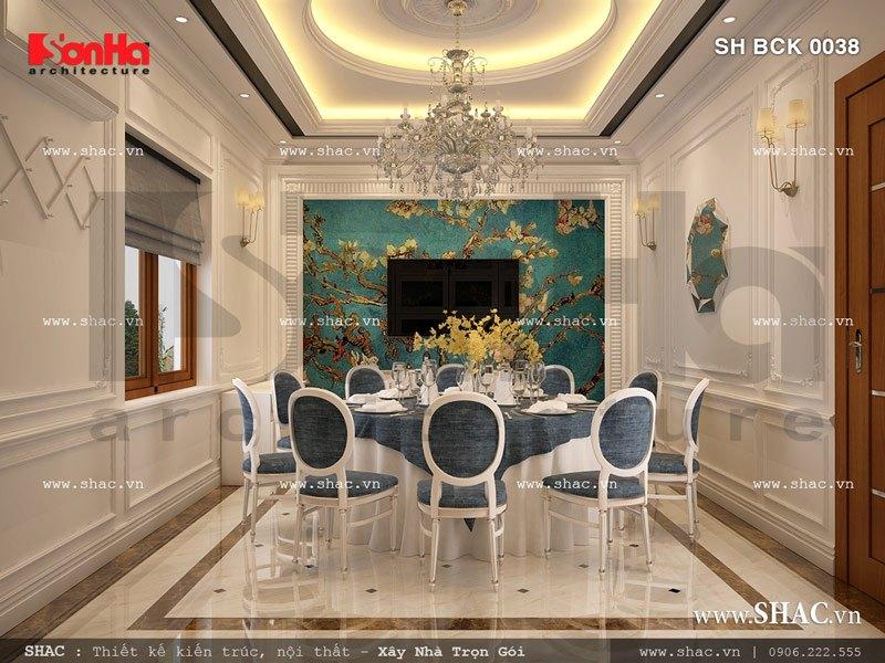 Mẫu nội thất phòng ăn VIP đẹp SH BCK 0038