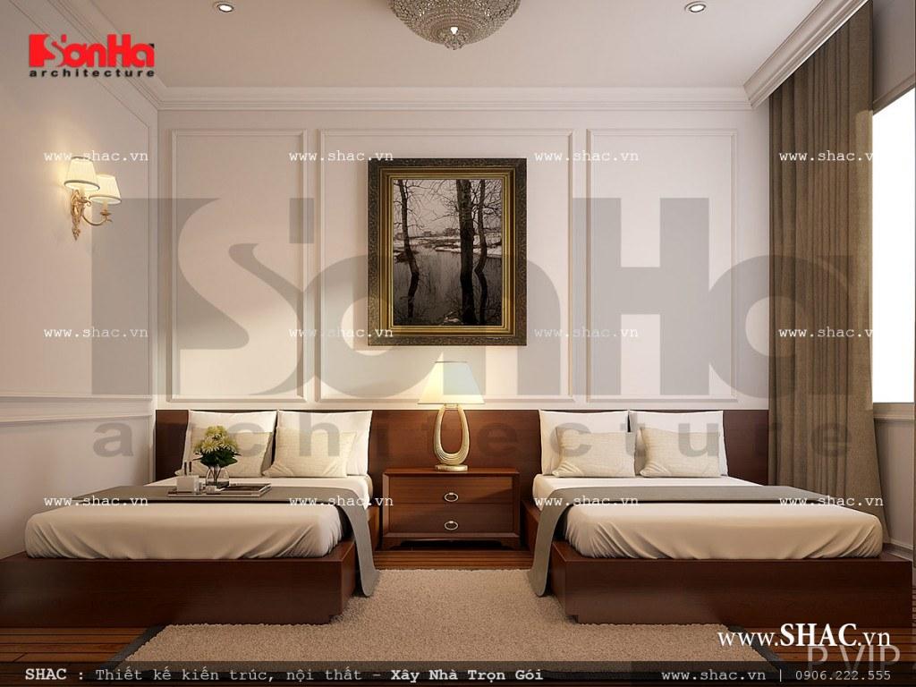 Mẫu nội thất phòng ngủ VIP khách sạn Pháp đẳng cấp sh ks 0026