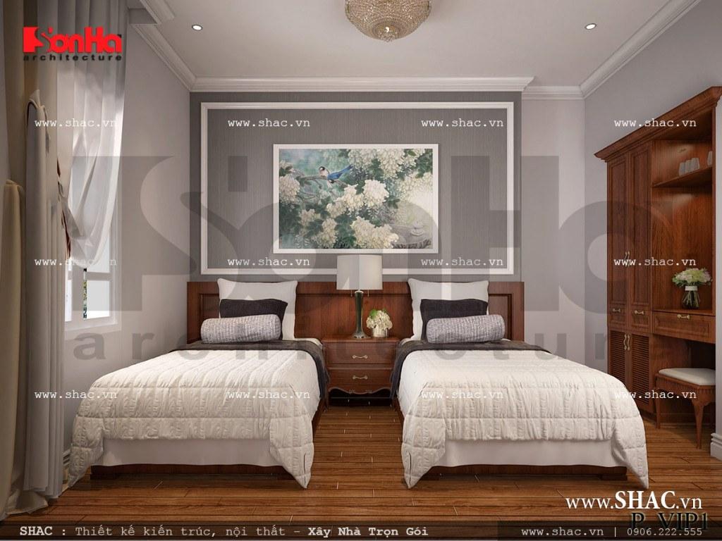 Nội thất phòng ngủ đẹp VIP 1 - 7 khách sạn cổ điển sh ks 0026