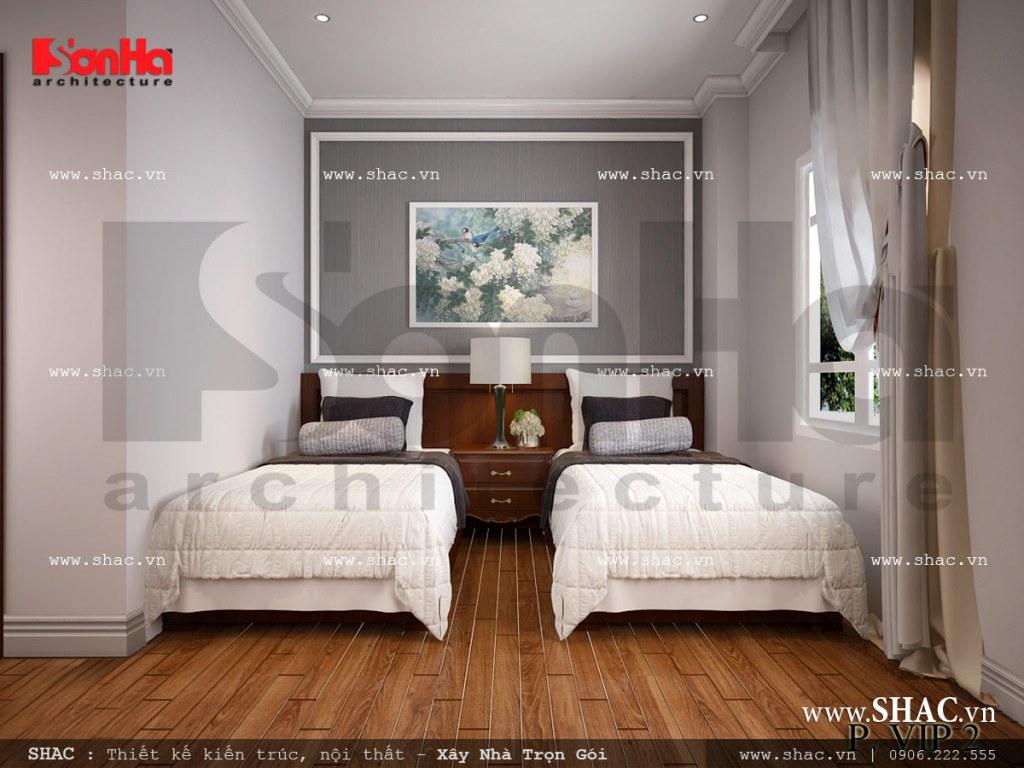 Nội thất phòng ngủ đẹp VIP 2 khách sạn cổ điển sh ks 0026