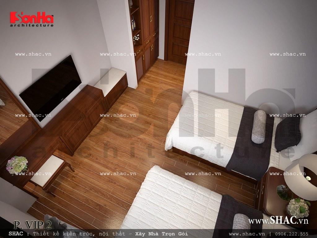 Nội thất phòng ngủ VIP 2 khách sạn cổ điển sh ks 0026