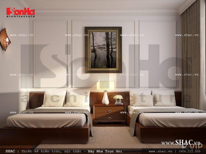 Nội thất phòng ngủ VIP 3 khách sạn cổ điển sh ks 0026