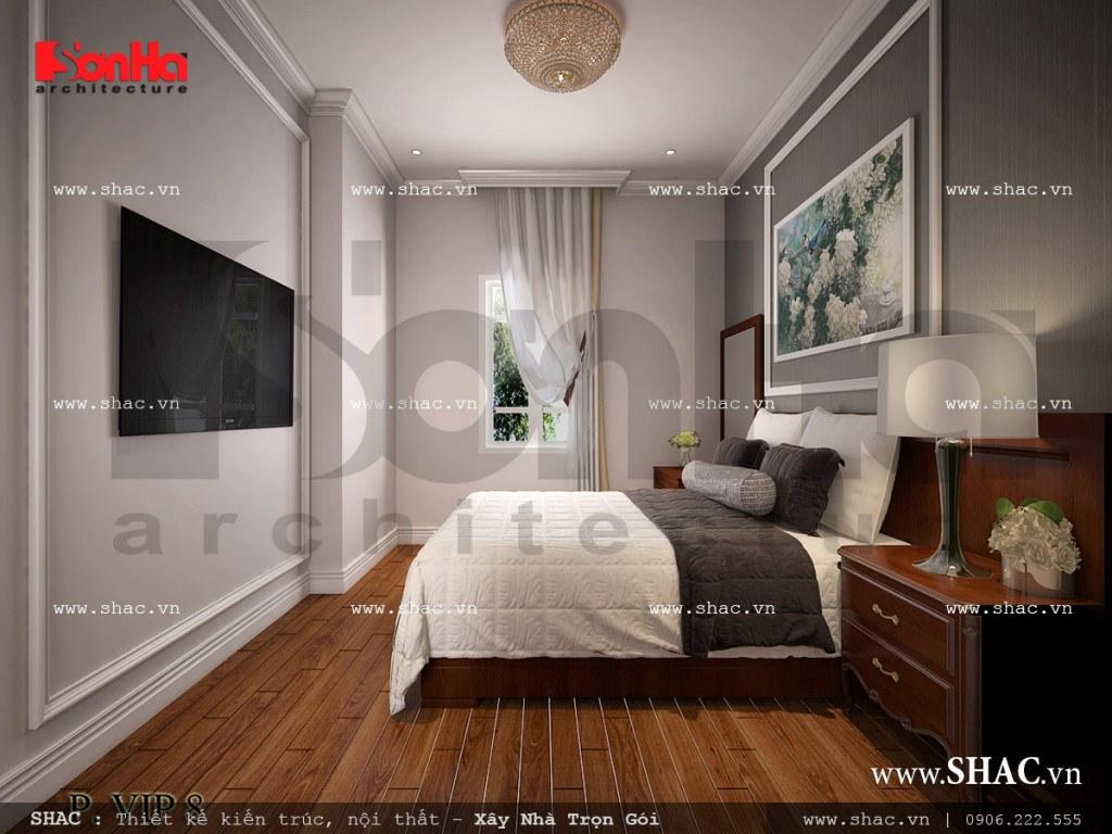 Nội thất phòng ngủ VIP 8 cổ điển sang trọng sh ks 0026