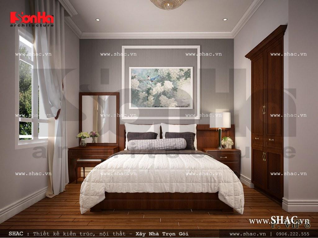 Nội thất phòng ngủ VIP 8 khách sạn cổ điển sang trọng sh ks 0026