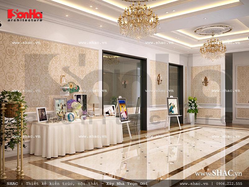 Nội thất sảnh tiệc cưới nhà hàng đẳng cấp sh bck 0041