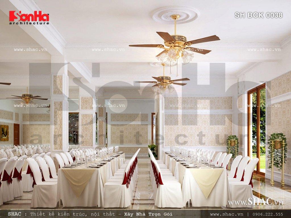 Thiết kế nội thất nhà hàng SH BCK 0038