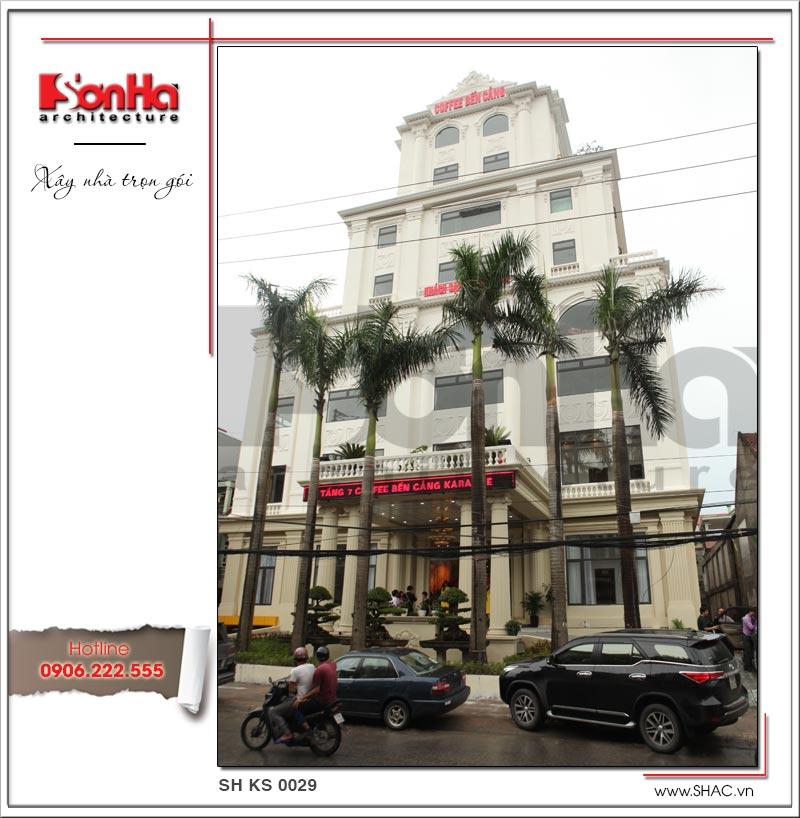 Thiết kế tổ hợp khách sạn nhà hàng trung tâm tổ chức sự kiện đẹp – SH KS 0029 5