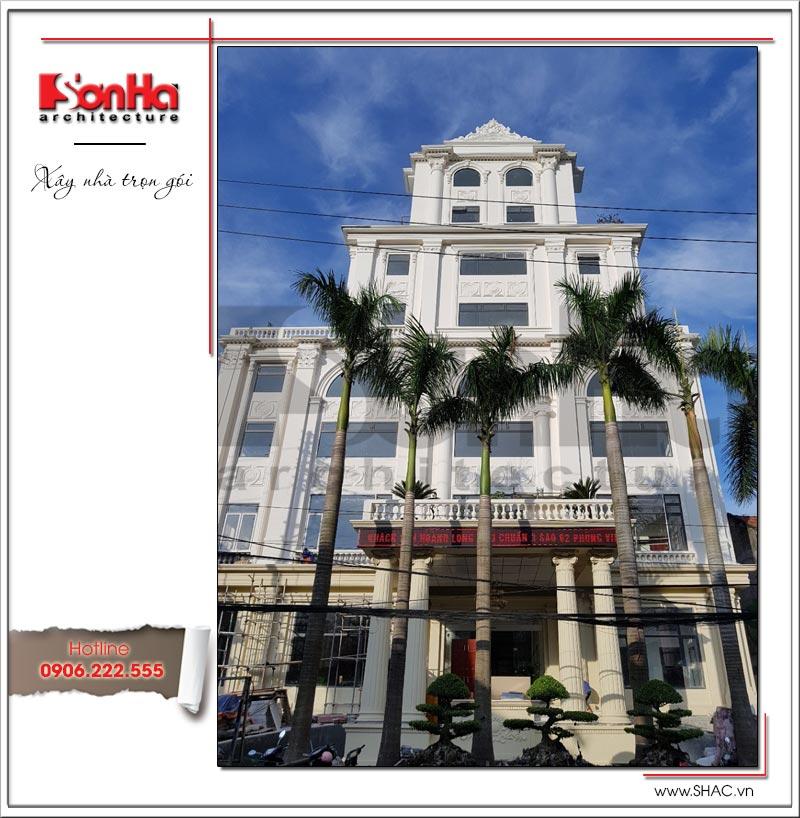 Thiết kế tổ hợp khách sạn nhà hàng trung tâm tổ chức sự kiện đẹp – SH KS 0029 3