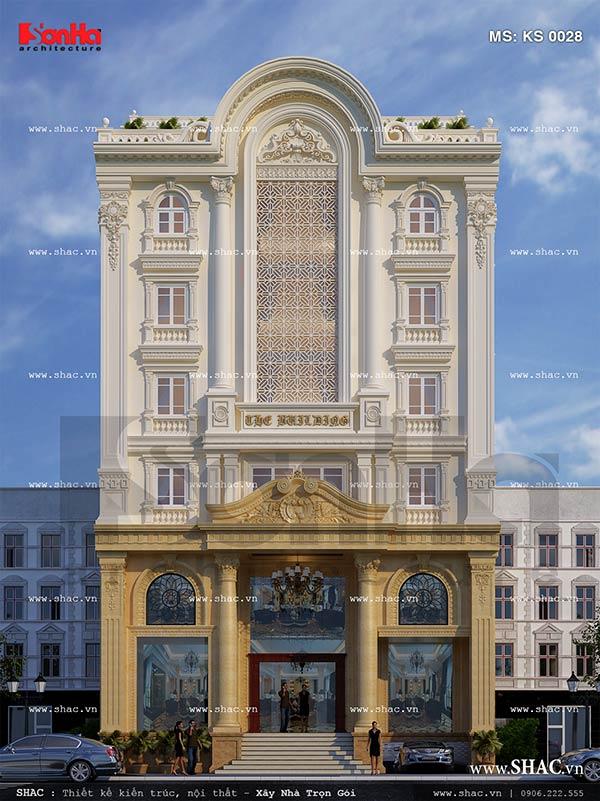 Thiết kế khách sạn cổ điển sang trọng tại Lào Cai sh ks 0028